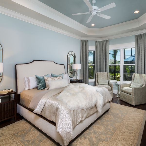 Master Bedroom At British West Indies By Custom Home Builder Camlin Custom Homes