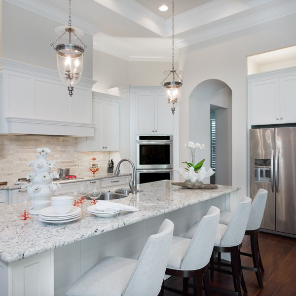 Kitchen At British West Indies By Custom Home Builder Camlin Custom Homes