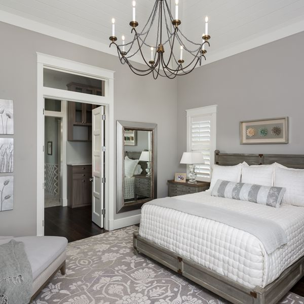 Master Bedroom At Riverfront Low Country By Custom Home Builder Camlin Custom Homes