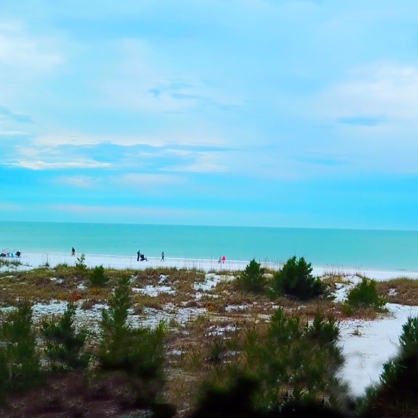 Beach View At Elm Ave, Anna Maria Island By Custom Home Builder Camlin Custom Homes