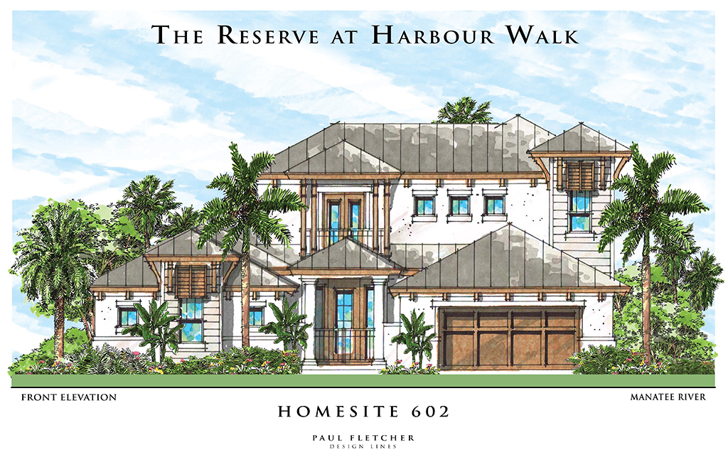 The Reserve at Harbour Walk Floor Plan